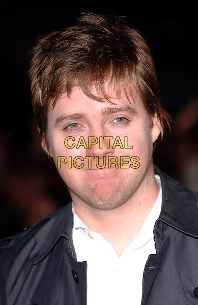 RICKY WILSON FROM KAISER  CHEIFS.attending the 2007 Brit Awards, Earls Court, .London, England,14th February 2007..Brits portrait headshot .CAP/ BEL.©Tom Belcher/Capital Pictures.