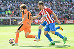 Atletico de Madrid's Koke Resurrección and SD Eibar's Takashi Inui during Liga Liga match between Atletico de Madrid and SD Eibar at Vicente Calderon Stadium in Madrid, May 06, 2017. Spain.<br /> (ALTERPHOTOS/BorjaB.Hojas)