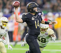 12/27/18  Vanderbilt UniversityHouston, TX - Thursday December 27, 2018: Vanderbilt vs Baylor in the Texas Bowl at NRG Stadium.
