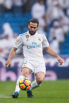 Daniel Carvajal Ramos of Real Madrid in action during the La Liga 2017-18 match between Real Madrid and Villarreal CF at Santiago Bernabeu Stadium on January 13 2018 in Madrid, Spain. Photo by Diego Gonzalez / Power Sport Images