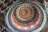Ceiling of the Pavilion of Ten Thousand Springs, Imperial Garden, Forbidden City, Beijing, China
