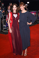 "Ruth Wilson and director, Clio Barnard<br /> arriving for the London Film Festival 2017 screening of ""Dark River"" at the Odeon Leicester Square, London<br /> <br /> <br /> ©Ash Knotek  D3323  07/10/2017"