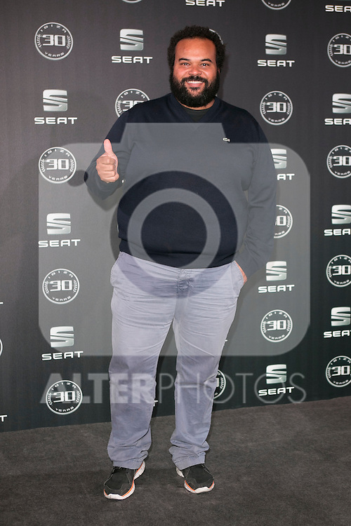 Carlos Jean attends the 30th Anniversary Party Of Seat IBIZA Car at COAM in Madrid, Spain. November 6, 2014. (ALTERPHOTOS/Carlos Dafonte)