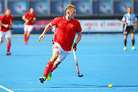 David Ames of England in action during the Hockey World League Semi-Final match between England and Argentina at the Olympic Park, London, England on 18 June 2017. Photo by Steve McCarthy.