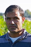 Michel Chvret, vineyard manager. Domaine des Roches Neuves, Saumur Champigny, Loire, France