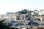 Estella-Lizarra.Navarra.Espana.Estella-Lizarra.Navarra.Spain..Vista general y de la Iglesia de San Miguel..Overview and the Church of San Miguel..(ALTERPHOTOS/Alfaqui/Acero)