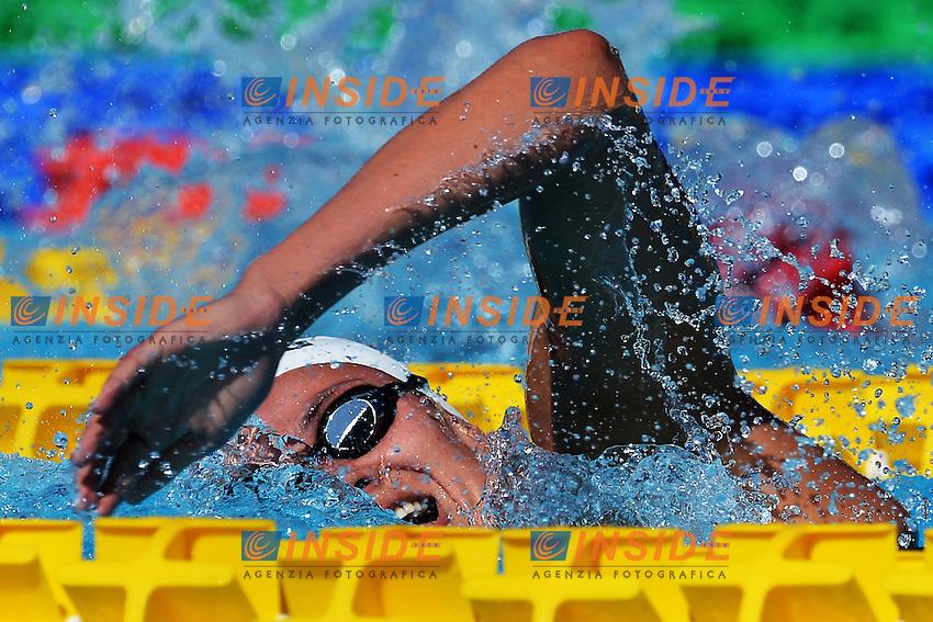 Wendy Trott 800m freestyle women.Roma 16/6/2012 Foro Italico.Nuoto Swimming 49mo trofeo settecolli.Foto Andrea Staccioli Insidefoto