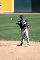 Jemiile Weeks - San Diego Padres 2016 spring training (Bill Mitchell)