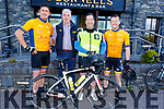 Supporting the RNLI Cycling fundraiser at O'Donnells in Mounthawk on Saturday morning.<br /> L to r: Dominic Graton (Clogherbrien), Finbar O'Connell, Graham Kelliher and Padraig O'Connor.