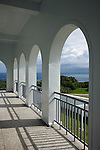 Colonnade On The Senior Staff Residential Block, South Cape (Cape Eluanbi) Lighthouse And Fortified Complex.  Kenting, Taiwan.
