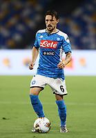 12th July 2020; Stadio San Paolo, Naples, Campania, Italy; Serie A Football, Napoli versus AC Milan; Mario Rui of Napoli on the ball