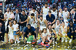 Real Madrid wins the final of Supercopa Endesa. September 22, 2019. (ALTERPHOTOS/Francis González)