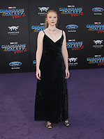 HOLLYWOOD, CA - April 19: Molly Quinn, At Premiere Of Disney And Marvel's &quot;Guardians Of The Galaxy Vol. 2&quot; At The Dolby Theatre  In California on April 19, 2017. <br /> CAP/MPI/FS<br /> &copy;FS/MPI/Capital Pictures