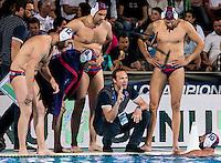 KOBESCAK Vjekoslav JUG DUBROVNIK  Coach<br /> Jug Dubrovnik (white cap) vs Olympiacos (blue cap)<br /> Budapest, Alfred Hajos National Swimming Complex<br /> LEN 2016 Water Polo Champions League Final Six<br /> Budapest HUN June 2 - 5, 2016<br /> Day 03 June 4, 2016<br /> Photo Giorgio Scala/Deepbluemedia/Insidefoto