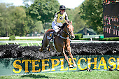 Randallston Farm's Spy in the Sky, with Liam McVicar aboard, takes the $100,000 Grade 1 New York Turf Writers Cup steeplechase at Saratoga on Thursday Aug. 27.