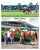 Sally's News winning at Delaware Park on 7/18/16