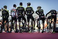 Mitchelton Scott (men elite) team presentation<br /> <br /> 53th Amstel Gold Race (1.UWT)<br /> 1 Day Race: Maastricht > Berg en Terblijt (263km)