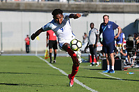 Demetri Mitchell of Manchester United and England during England Under-18 vs Ivory Coast Under-20, Toulon Tournament Final Football at Stade de Lattre-de-Tassigny on 10th June 2017