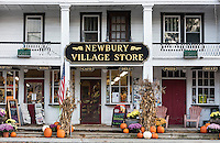Charming village store, Newbury, Vermont, USA.