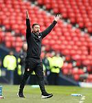Derek McInnes not happy
