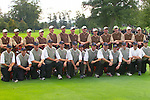 USA Team Photo, players and caddies, for the 2006 Ryder Cup at The K Club..Photo: Eoin Clarke/Newsfile.