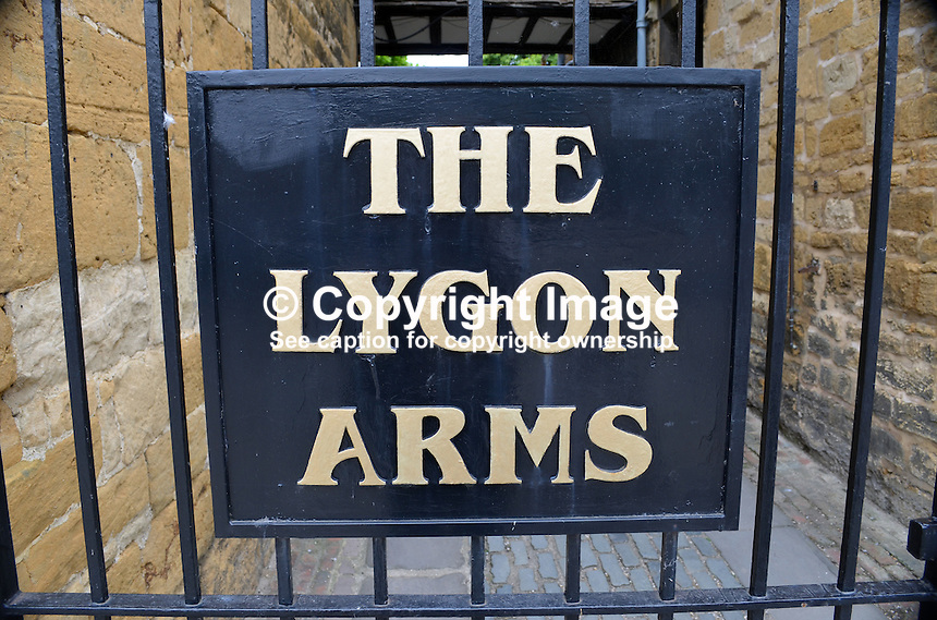 Lygon Arms, hotel, Broadway, Worcestershire, July, 2014, 201407113474<br />