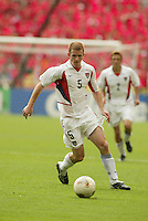 John O'Brien. The USA tied South Korea, 1-1, during the FIFA World Cup 2002 in Daegu, Korea.