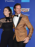 PALM SPRINGS, CA - JANUARY 02: Actor Armie Hammer (R) and wife Elizabeth Chambers arrive at the 29th Annual Palm Springs International Film Festival Film Awards Gala at Palm Springs Convention Center on January 2, 2018 in Palm Springs, California.