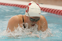 STANFORD, CA - JANUARY 22:  Jamie Bruce of the Stanford Cardinal during Stanford's 173-125 win over Arizona on January 22, 2010 at the Avery Aquatic Center in Stanford, California.