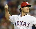 Yu Darvish (Rangers),.APRIL 30, 2013 - MLB : Yu Darvish of the Texas Rangers pitches during the baseball game against the Chicago White Sox at Rangers Ballpark in Arlington in Arlington, Texas, United States. (Photo by AFLO)