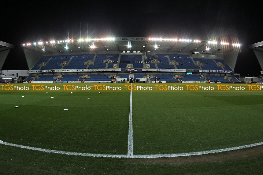 General view of the ground ahead of kick-off during Millwall vs Oxford United at The Den