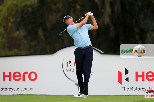 Matt Kucher (USA) on the 3rd during round 4 of the Hero World Challenge, Isleworth Golf &amp; Country Club, Windermere, Orlando Florida, USA. 07/12/2014<br /> Picture Fran Caffrey, www.golffile.ie