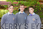 Attending the TY Day held in the Ballyroe Hotel on Tuesday afternoon were: Max Benner, Gary Nolan and Oisin Fitzgerald.