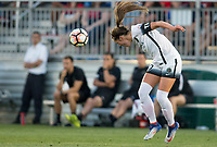 Boyds, MD. - Saturday, June 24 2017:  Celeste Boureille during a regular season National Women's Soccer League (NWSL) match between the Washington Spirit and the Portland Thorns FC at Maureen Hendricks Field, Maryland SoccerPlex.<br />  The Washington Spirit defeated the Portland Thorns FC 1-0.