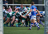 Match action during the 2019/20 Pre Season Friendly match between Ealing Trailfinders and Bishop's Stortford at Castle Bar , West Ealing , England  on 24 August 2019. Photo by Alan  Stanford / PRiME Media images