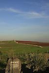 Israel, Issachar Heights. Taglit garden by Givat Hamore-Ramot Issachar scenic road