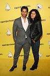 Touré and Rita Nakouzi Attend Pharrell Williams 41st Spongebob Square Pants Theme Birthday  Celebration at Cipriani Wall Street, NY