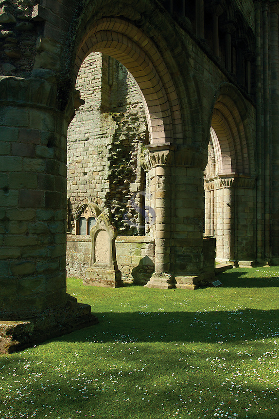 Kelso Abbey Archways, Kelso, Scottish Borders
