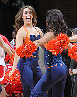 Virginia Cavaliers dancers during the game at the John paul Jones arena in Charlottesville, Va Photo/Andrew Shurtleff