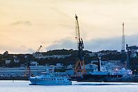 France, Bretagne, (29), Finistère, Brest: Base Navale et Arsenal de Brest, la rade et le port militaire,