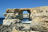 Azure Window on the Island of Gozo, Malta