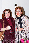 Ann Marie Riordan and Kathleen Healy Cromane at the Fashion Extrazganza show in the Hotel Europe on Tuesday night