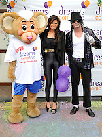 Milton Keynes -  TOWIE Star Jessica Wright  meets Dreams.Come True families at Gulliver's Land,  Milton Keynes, Bucks.- July 1st 2012..Photo by Ross Stratton