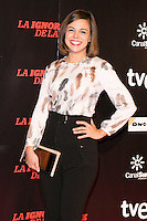 "Marian Araguetes attends ""La Ignorancia de la Sangre"" Premiere at Capitol Cinema in Madrid, Spain. November 13, 2014. (ALTERPHOTOS/Carlos Dafonte) /NortePhoto nortephoto@gmail.com"
