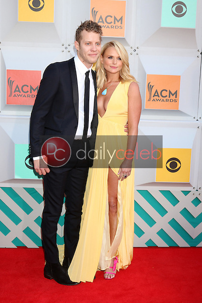 Anderson East, Miranda Lambert<br /> at the 2016 Academy of Country Music Awards Arrivals, MGM Grand Garden Arena, Las Vegas, NV 04-03-16<br /> David Edwards/DailyCeleb.com 818-249-4998