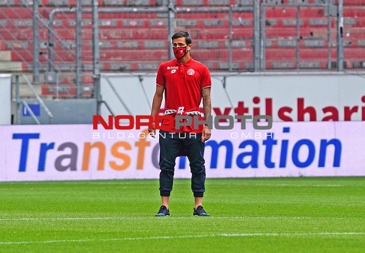 Sport: Fussball: 1. Bundesliga:: nphgm001:  Saison 19/20: 33. Spieltag: 1. FSV Mainz 05 vs SV Werder Bremen 20.06.2020<br />Danny Latza (M05),<br /> Foto: Bratic/rscp-photovia/via gumzmedia/nordphoto<br /><br />DFL regulations prohibit any use of photographs as image sequences and/or quasi-video.<br />EDITORIAL USE ONLY.<br />National and international News-Agencies OUT.<br /><br />  DFL REGULATIONS PROHIBIT ANY USE OF PHOTOGRAPHS AS IMAGE SEQUENCES AND OR QUASI VIDEO<br /> EDITORIAL USE ONLY<br /> NATIONAL AND INTERNATIONAL NEWS AGENCIES OUT