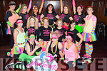 Dancers from performed a 80's routine at the Glow  Hearts 4 Crumlin 80's disco in McSorley's on Saturday night front row l-r: Sonia Doyle, Gillian Sharon brosnan. Middle row: Samantha Goggin, Natasha Brosnan, Fiona Waltz, Elizabeth Newman, Jenny Pye. Back row: Sinead Malone-Walker, Aoife Sheehy, Simona Curiova, Joanne Barry, Lauren McConnell, Simone Hennessy and Sinead O'Connor