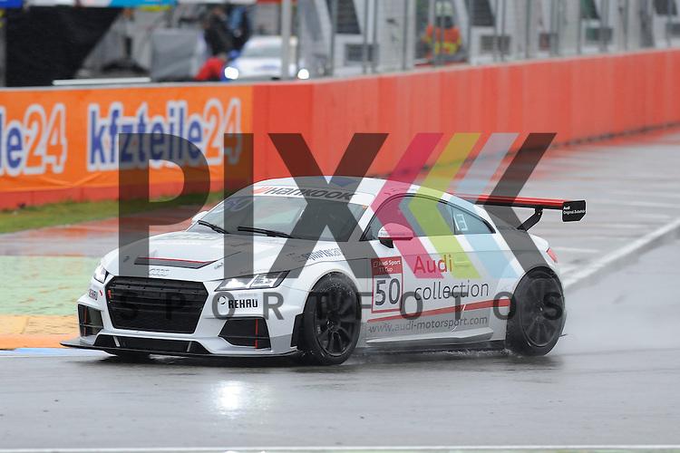 # 50 Loris Hezemans (NL) beim Qualiyfing der Audi Sport TT Cup Hockenheimring.<br /> <br /> Foto &copy; P-I-X.org *** Foto ist honorarpflichtig! *** Auf Anfrage in hoeherer Qualitaet/Aufloesung. Belegexemplar erbeten. Veroeffentlichung ausschliesslich fuer journalistisch-publizistische Zwecke. For editorial use only.