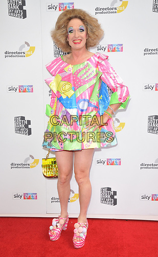Grayson Perry at the South Bank Sky Arts Awards 2019, The Savoy Hotel, The Strand, London, England, UK, on Sunday 07th July 2019.<br /> CAP/CAN<br /> ©CAN/Capital Pictures