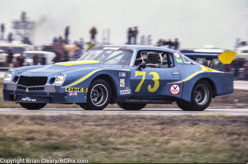 #73 Chevrolet Camaro, Clark Howey, Dale Koch, and David Crabtree 1978 24 Hours of Daytona, Daytona International Speedway, Daytona Beach, FL, February 5, 1978.  (Photo by Brian Cleary/www.bcpix.com)